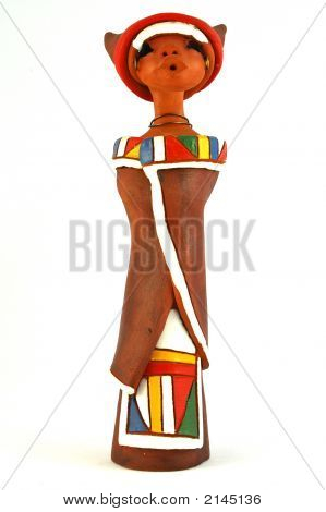 African Ndebele Doll