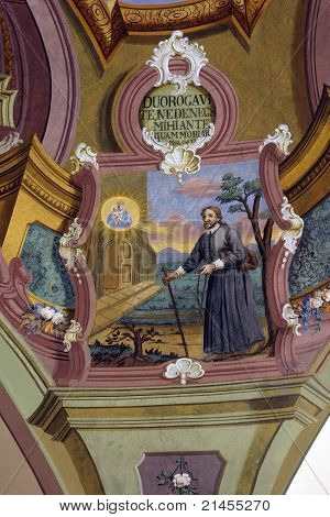 Scenes from the life of Saint Ignatius of Loyola