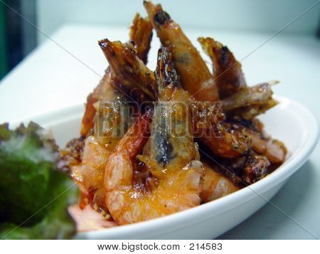 Fried Shrimp Cuisine