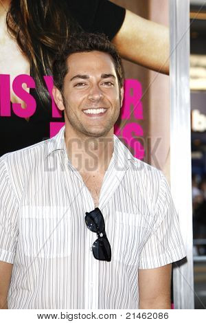 LOS ANGELES - JUN 30: Zachary Levi at the Premiere of 'Horrible Bosses' at Grauman's Chinese Theatre on June 30, 2011 in Los Angeles, California