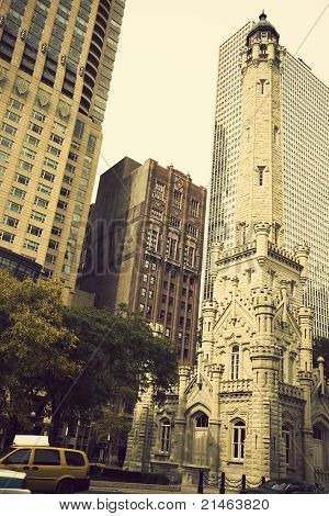 Water Tower In Chicago