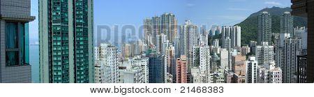 180 Degree View of Hong Kong
