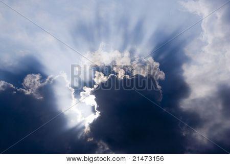 Dramatic cloudscape.