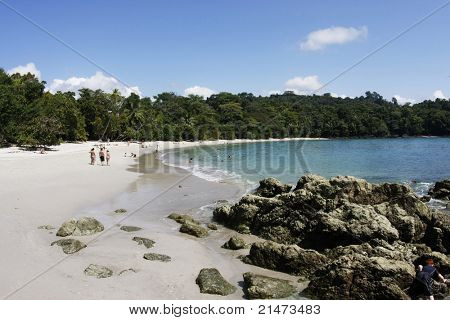 Strand in Manuel Antonio Nationalpark (Costa Rica)