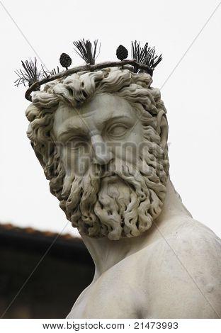 Cosimo I de' Medici, Grand Duke of Tuscany. Fountain of Neptune for the Piazza della Signoria, Florence - the most important work by Bartolomeo Ammanati
