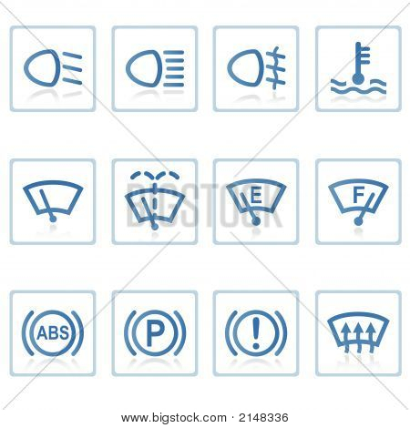 Web Icons : Automobile Ii