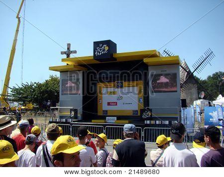 Tour de France - fase 1 - o fim