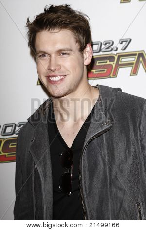 LOS ANGELES - MAY 14: Chord Overstreet at the KIISFM 2011 Wango Tango at the Staples Center in Los Angeles, California on May 14, 2011.
