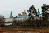 Panoramic View Of The Voskresensky Or Resurrection New Jerusalem Monastery. poster