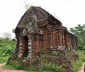 stock photo of champa  - Built by the Champa kingdom which ruled south and central Vietnam from c200AD to c1700AD - JPG