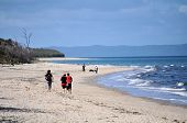 foto of bribie  - Bribie Island beaches and laid back life style - JPG