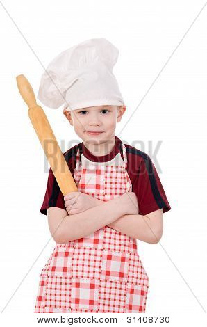 Boy In Chef's Hat