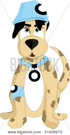 Puppy art illustration vector image for your design projects and more