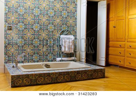 Wallpaper Beautiful bathroom