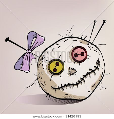 Pincushion With Eyes