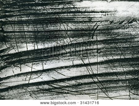 Abstract Scrached Grunge Background