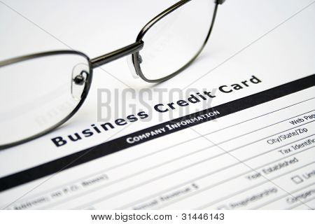 Business Credit Card Application