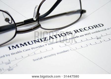 Registro de vacunación