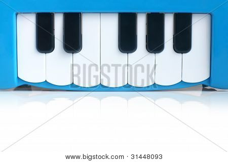 Blue Child's Piano