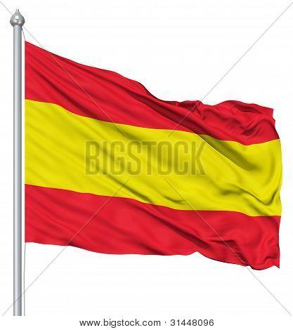 Flagge Spaniens