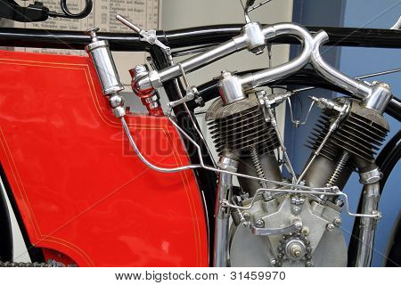 Very Old Motorbike Engine