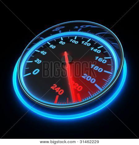 Speedometer Car