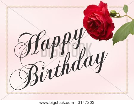 Happy Birthday Roses Card Happy Birthday Rose Card