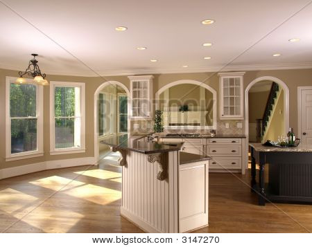 Luxury Model Home Kitchenette 1
