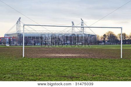 Winter UK Sun Amateur Pro Playing Fields