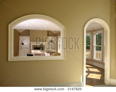 Luxury Model Home Den Opening 2
