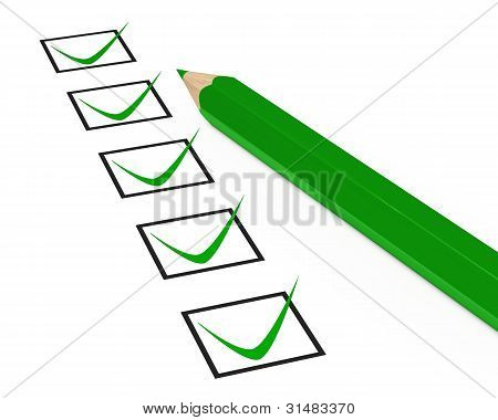 Pen Check Box