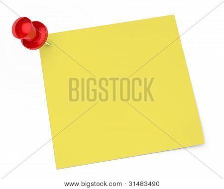 Pin Notepaper