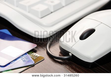 Keyboard, Mouse, Credit Card