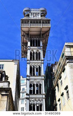 Santa Just Lift, Lisbon