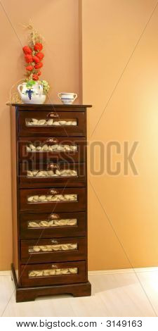 Drawers With Pasta