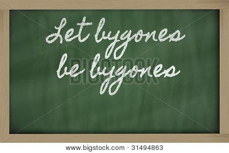 Expression -  Let Bygones Be Bygones
