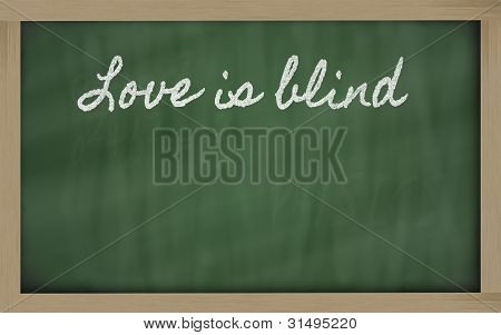 Expression -  Love Is Blind