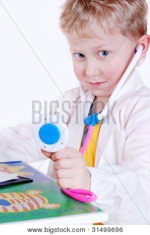 Little Doctor Portrait