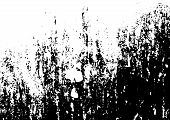 Grunge Black And White Texture Vector. Place Over Any Object Create Black Grunge Effect. Distress Gr poster