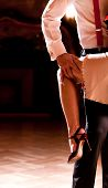 picture of tango  - Detail of a couple - JPG