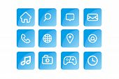 Icon Pack, Home Icon, Telephone Icon, Mail, Icon, Navigatiopn Icon, Location Pin Icon, Place Icon, W poster