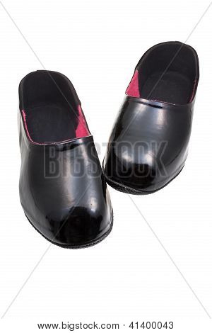 Black Rubber Galoshes