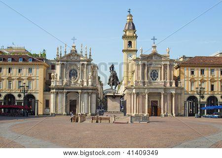 Piazza San Carlo, Turin