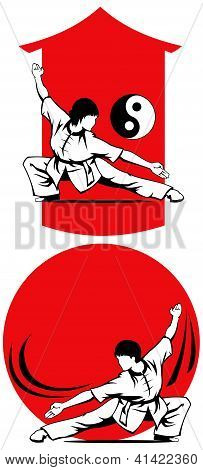 Wushu Training People