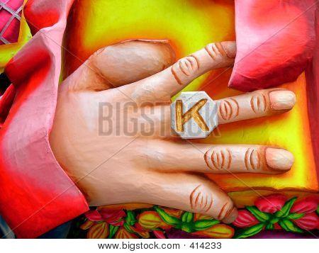 Large Hand K