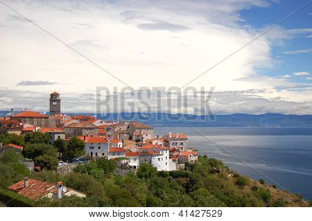 Village Brsec on Istria peninsula in Croatia