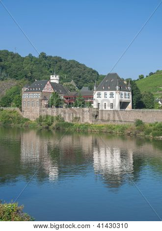 Kobern-Gondorf,Mosel River,Germany