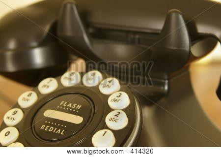 Vintage Phone Crop