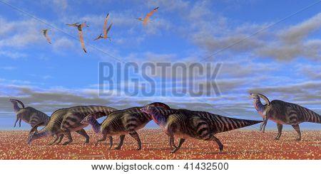 Parasaurolophus Desert