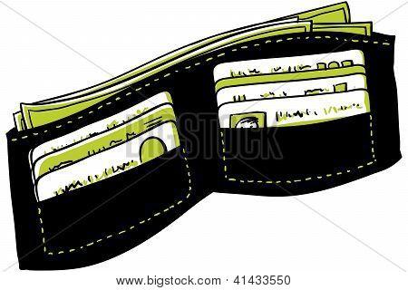 Cartoon Wallet